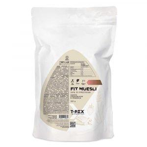 FIT MUESLI Proteico Croccante con cioccolato e fragola