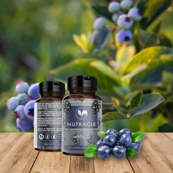 Mirtillo - 100 compresse da 400 mg