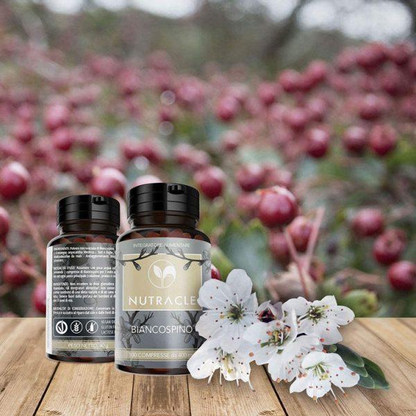 Biancospino - 100 compresse da 400 mg