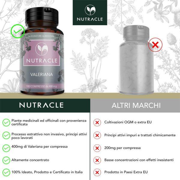 Valeriana - 100 compresse da 400 mg