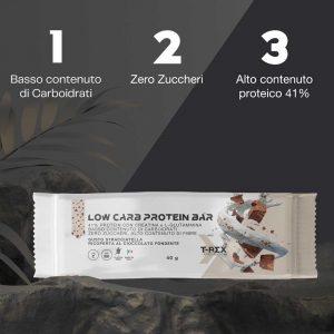 Low Carb Protein Bar 41% Stracciatella