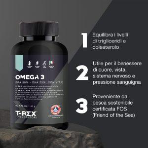 Omega 3 EPA 50% DHA 25% con Vit E
