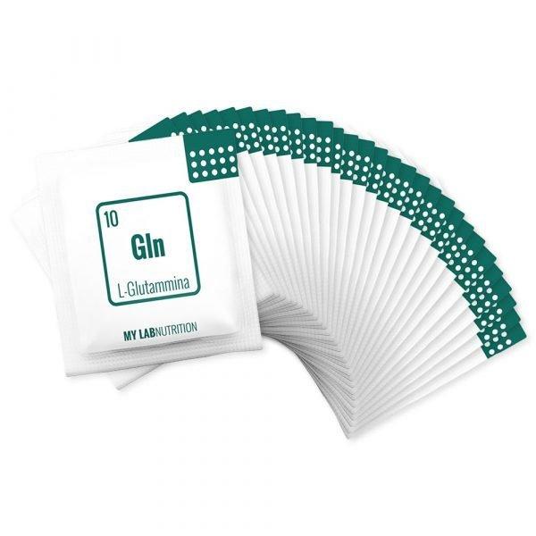 Integratore a base di L-Glutammina polvere in bustine monodose da 40000mg.